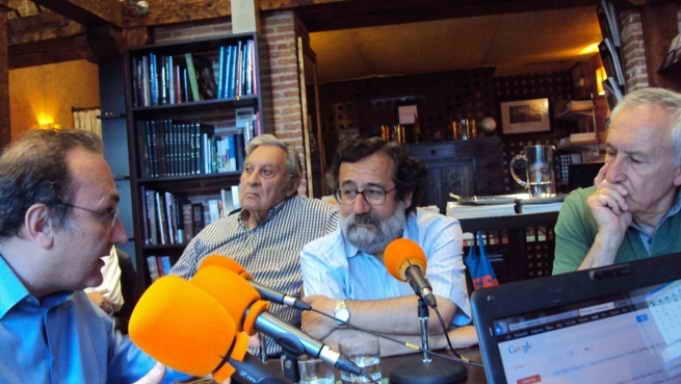 Javier Castro-Villacañas, Javier Perote y Eugenio Pordomingo