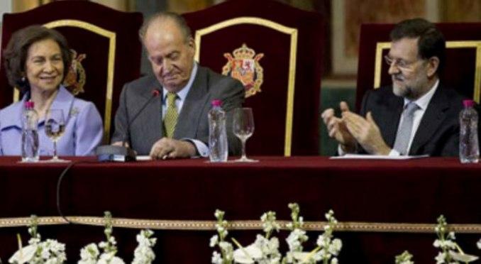Los Reyes y Rajoy