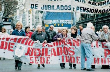 Pensionistas protesttam