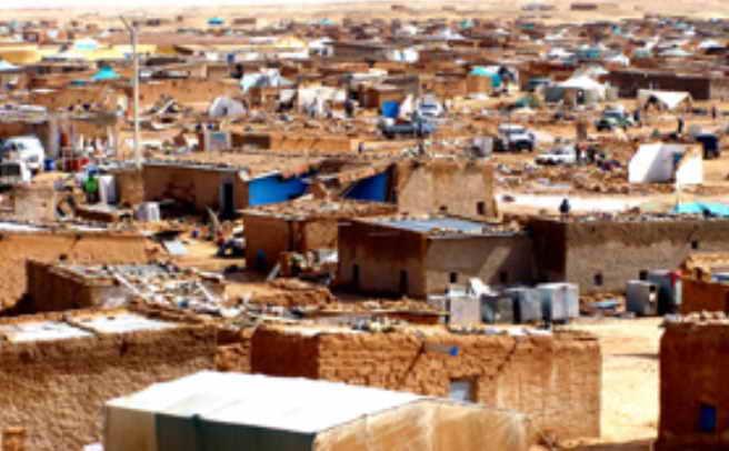 Sahara Occidental campamento de refugiados