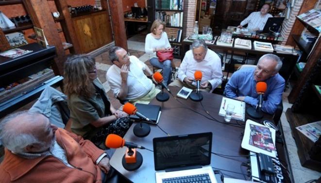 De izquierda a derecha, Jose Manuel Gonzalez Torga, Ana Camacho, Diego Camacho, Javier Perote y Eugenio Pordomingo