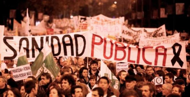 Manifestacion por la Sanidad Publica