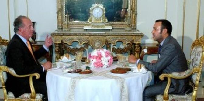 Mohamed VI y Juan Carlos I