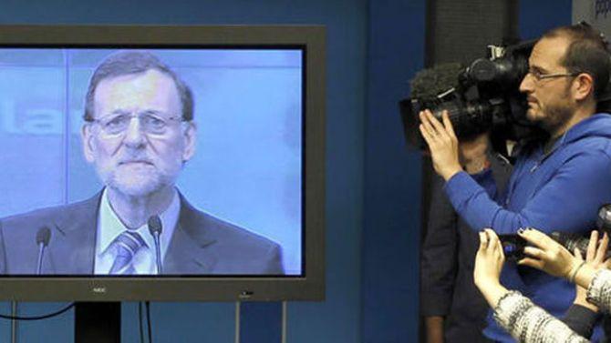 Rajoy y la prensa