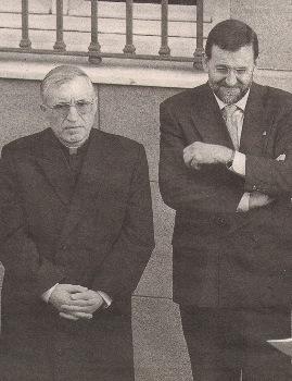 Rouco y Rajoy
