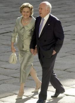 Alvaro Lapuerta y Señora