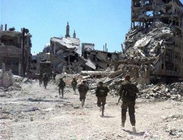 Siria: ataque de rebeldes en la ciudad de Homs