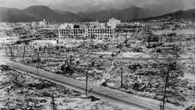 Bomba atomica sobre Hiroshima