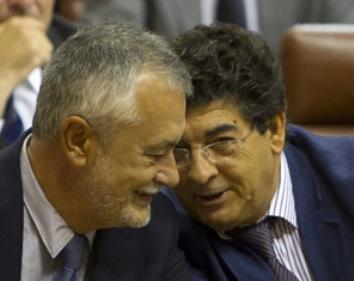 Griñán y Valderas, Presidente y Vicepresidente