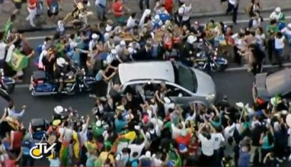 PaPapa Francisco en Brasil