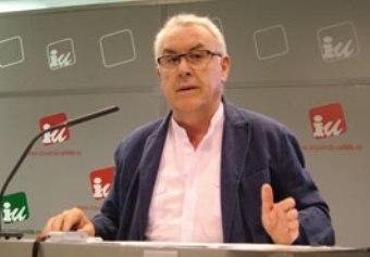 Cayo Lara, diputado de IU