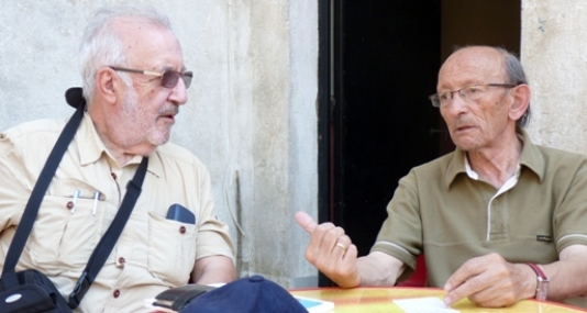 Conversación entre González Torga y Agúndez Ponce