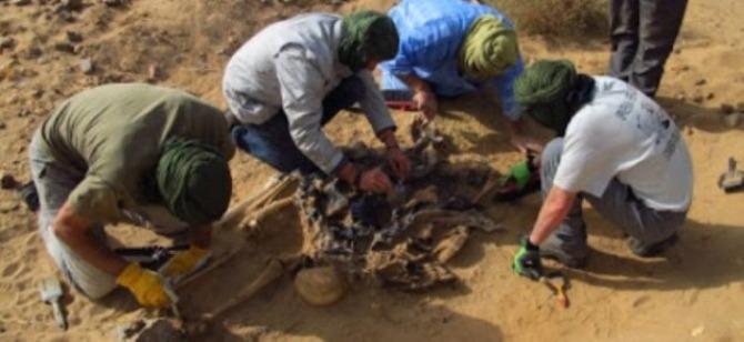 Fosas de saharauis asesinados por Marruecos