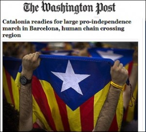 La prensa extranjera y Cataluña