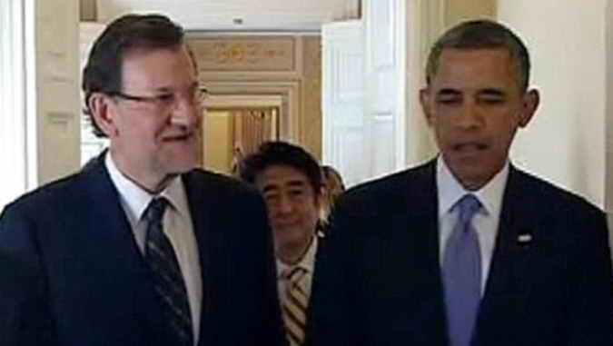 Rajoy y Obama (Foto La Moncloa)