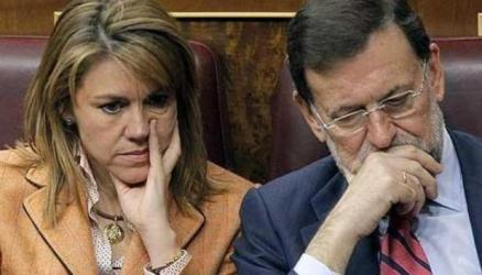Cospedal y Rajoy aguantan el chaparrón