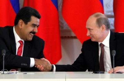 Nicolas Maduro y Vladimir Putin
