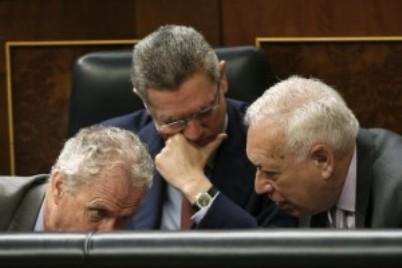 Morenés, Ruiz-Gallardón y Garcia-Margallo