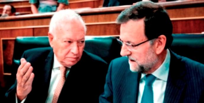 Garcia-Margallo y Rajoy