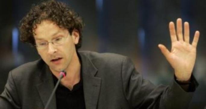 Jeroen Dijsselbloem, ministro de Hacienda holandes y presidente del Eurogrupo