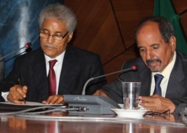 Mohamed Sidati y Mohamed Abdelaziz