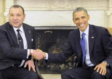 Mohamed VI con Barack Obama