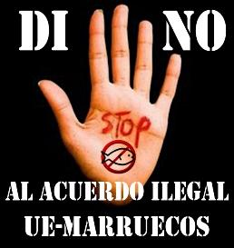 No al Acuerdo de Pesca entre la UE y Marruecos