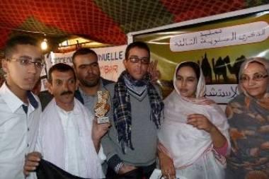 Activistas saharauis