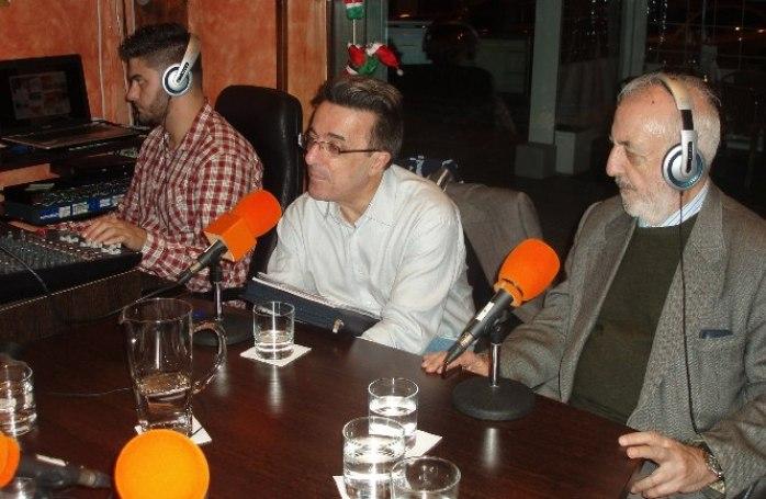 Alfredo Matarranz, Javier Martínez y José Manuel González Torga