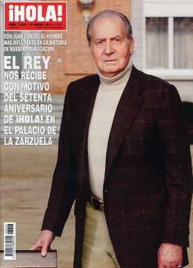 El Rey de España en la revista HOLA
