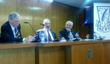 José Manuel González Torga, Erik Martel  Adeler y Carlos Pesado Palmieri