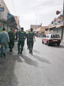 Guardias Civiles en El Aaiun