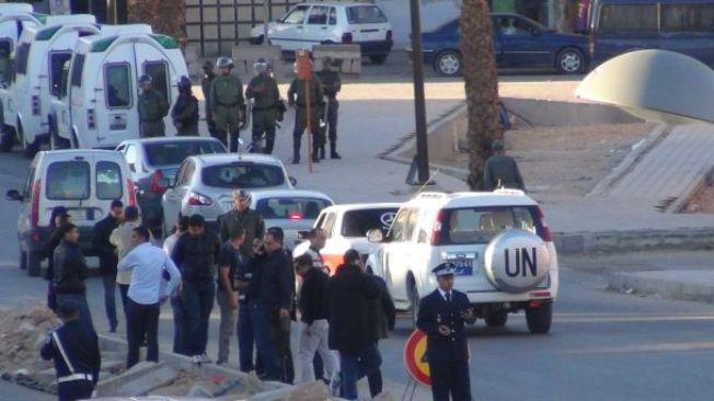 Manifestaciones en el Sahara
