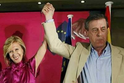 Rosa Díez y Francisco Sosa Wagner