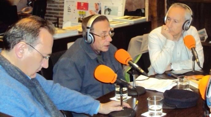 Javier Castro-Villacañas, Jesús Riosalido y Eugenio Pordomingo