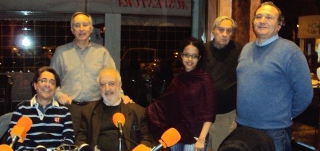 Javier Martinez, Eugenio Pordomingo, Jose Manuel Gonzalez Torga, Ebbaba Hameida, Javier Perote y Javier Castro-Villacañas