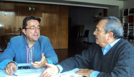 Javier Martínez y Diego Camacho