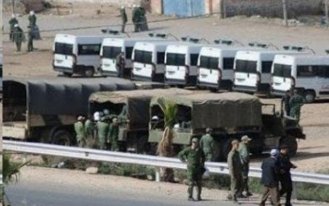 Las fuerzas de ocupación marroquíes reprimen violentamente manifestaciones pacíficas de saharauis