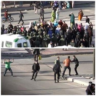 Violencia de Marruecos en el Sáhara Occidental