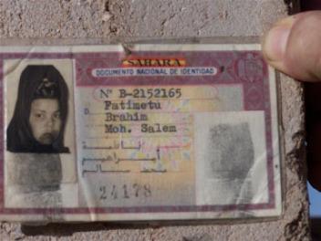 Saharaui con DNI español