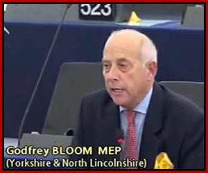 El eurodiputado Godfrey Bloom