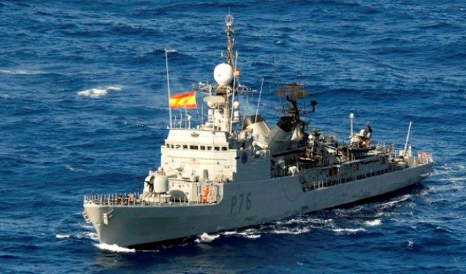 Patrullera 'Infanta Elena' rumbo al  Golfo de Guinea