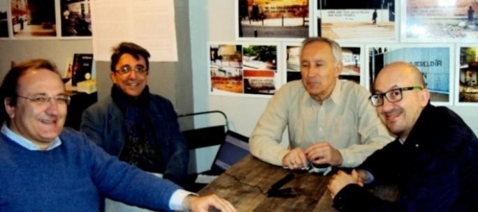 Javier Castro-Villacañas, Javier Martínez, Eugenio Pordomingo y  Carlos Ruiz Miguel
