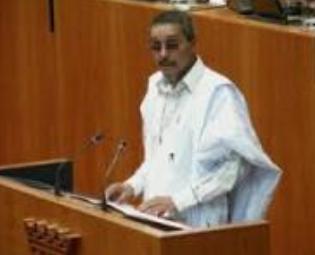 Jatri Adduh, presidente del Consejo Nacional Saharaui