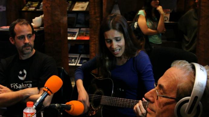 David Bollero, Suilma Aali y Jesús Riosalido