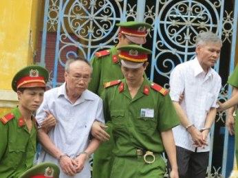 Banqueros corruptos condenados a muerte en Vietnam
