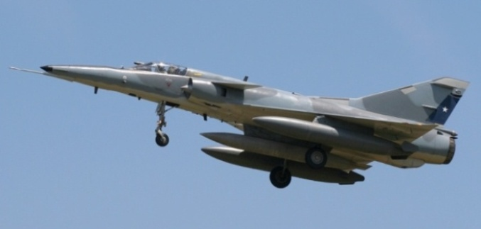 Chile vende aviones Mirage