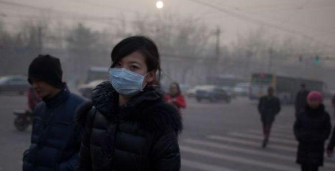 La contaminación del aire en Pekin (Foto Universidad de México)