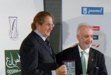 Joaquín Antuña y  José Manuel González Torga