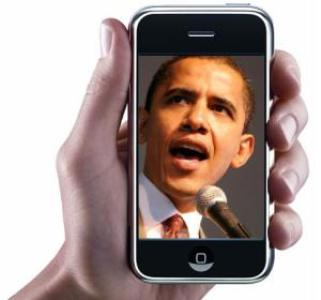 Obama:  Composición de The Communications Lab.